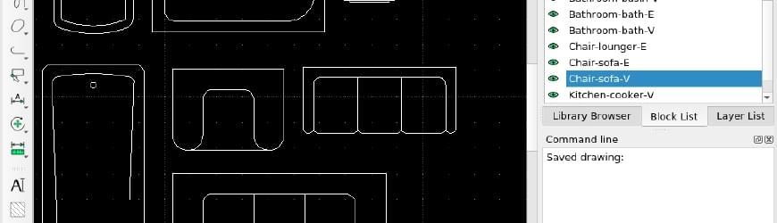 LibreCAD Blocks